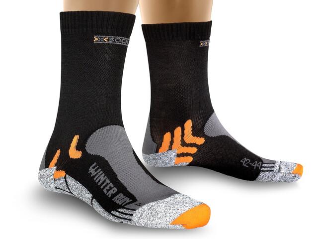 X-Socks Winter Run Socks Herre black